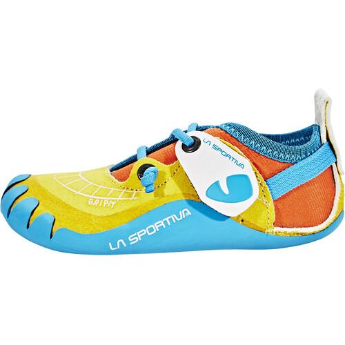 Magasin De Dédouanement Frais De Port Offerts 2018 Plus Récent La Sportiva Gripit - Chaussures d'escalade Enfant - jaune Meilleur Prix De Vente Pas Cher B5QYTV